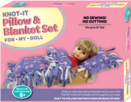 Knot -A- Pillow and Blanket for Your Doll