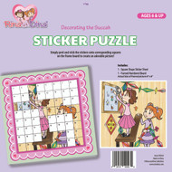 Rina and Dina Sukka Sticker Puzzle