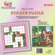Rina and Dina Sticker Puzzle /Baby on a Walk