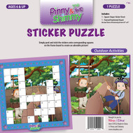 Pinny & Shimmy Outdoor Activities Sticker Puzzle