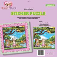 Rina and Dina Sticker Puzzle /At the Lake