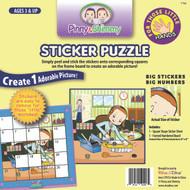P/S Little Hands Sticker Puzzle / fixing Truck