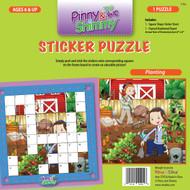 Pinny & Shimmy Planting Sticker Puzzle