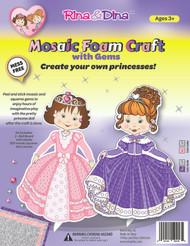Rina and Dina Mosaic Foam Craft with Gems
