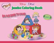 Rina and Dina Jumbo Coloring Book