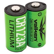 Valken Energy CR123A 3V Lithium Battery 2 Pack