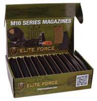 Elite Force 140 Round M4/ M16 Mid Cap Airsoft Magazine 10 Pack Black