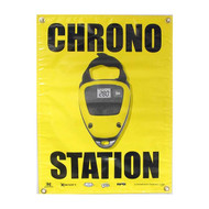Paintball Field Sign Chrono Station