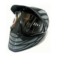 JT Flex 8 Gray Full Coverage Thermal Paintball Mask/Goggles