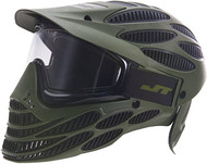 JT Flex 8 Olive Full Coverage Thermal Paintball Mask/Goggles