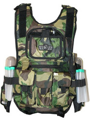 Wrek Tactical Vest Woodland Camo
