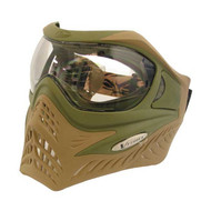 V-Force Grill Olive Drab/ Desert Tan Paintball Mask/Goggles