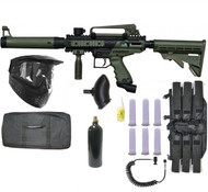 Tippmann Cronus Tactical Paintball Gun Sniper Set - Olive
