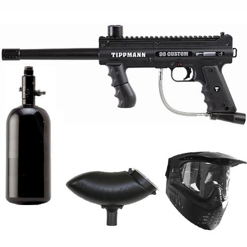 Tippmann 98 Custom PS Paintball Marker Gun N2 Package
