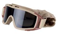 Valken Airsoft Goggles Tango Tan