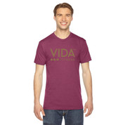 VIDA Unisex Seasonal Tri Cranberry T-Shirt