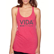 VIDA Women's 365 Vintage Shocking Pink Tank