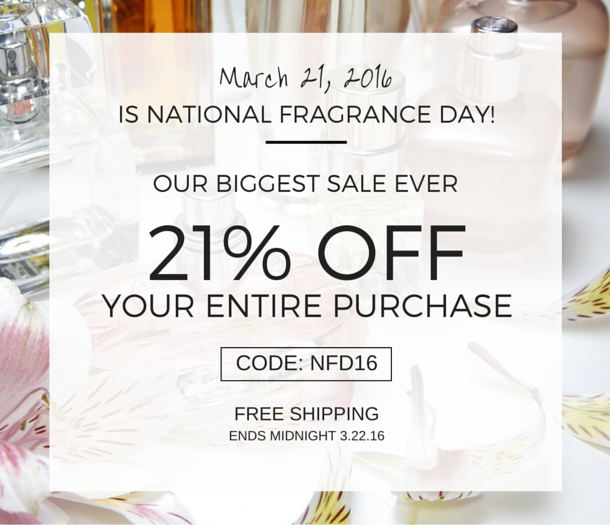 ForeverLux's National Fragrance Day Sale!