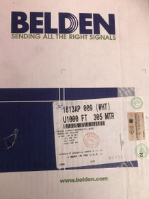 Belden 1613AP, 0091000 RG6 Plenum Tri Shield Cable 1000FT