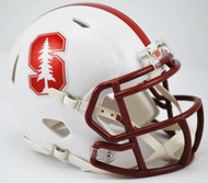 Stanford Cardinal Riddell NCAA Replica Revolution SPEED Mini Helmet NEW 2015 Logo