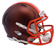 Cleveland Browns Riddell NFL Alternate Blaze Replica Mini Speed Helmet