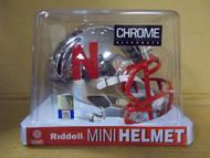 NEBRASKA NCAA Riddell CHROME Speed Mini