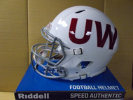 University Of Wisconsin Throwback riddell full-Size Authentic Helmet