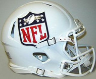 NFL Shield National Football League Logo Riddell Authentic Revolution SPEED Pro Line Full Size Helmet