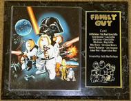 Family Guy Star Wars 12x15 Custom Cartoon Plaque