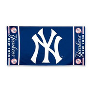 "New York Yankees WinCraft McArthur 30""x60"" Fiber Beach Towel"
