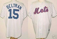 Carlos Beltran New York Mets Majestic Home Custom XL Jersey