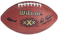Super Bowl 30 XXX Wilson Official NFL Game Football Cowboys vs. Steelers