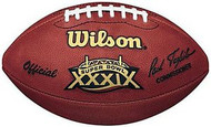 Super Bowl 39 XXXIX Wilson Official NFL Game Football Eagles vs. Patriots