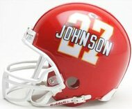 Larry Johnson Kansas City Chiefs Riddell NFL Replica Player Mini Helmet