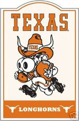 Texas Longhorns NCAA Football Riddell Nostalgic Sign