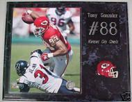 Tony Gonzalez Kansas City Chiefs 15x12 Plaque