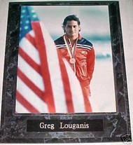 Greg Louganis Olympics 10.5x13 Plaque