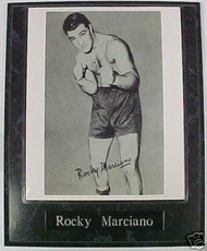 Rocky Marciano Boxing Legend 10.5x13 Plaque