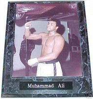 Muhammad Ali Speed Bag 10.5x13 Boxing Plaque