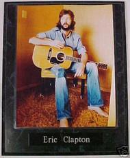 Eric Clapton Rock 'N' Roll 10.5x13 Plaque