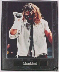 Mick Foley Mankind WWE Wrestling 10.5x13 Plaque