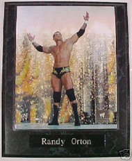 Randy Orton WWE Wrestling 10.5x13 Plaque