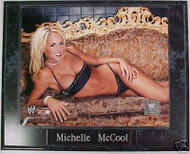 Michelle McCool WWE Wrestling 10.5x13 Plaque