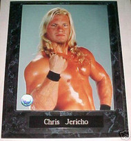 Chris Jericho WWE Wrestling 10.5x13 Plaque