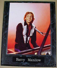 Barry Manilow Music Legend 10.5x13 Plaque
