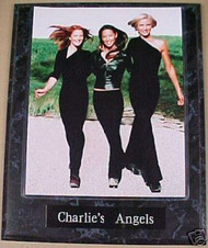 Charlie's Angels 10.5x13 Plaque Drew Barrymore, Lucy Liu & Cameron Diaz