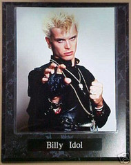 Billy Idol Rock 'N' Roll 10.5x13 Plaque
