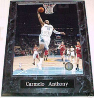 Carmelo Anthony Denver Nuggets 10.5x13 Plaque