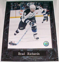 Brad Richards Tampa Bay Lightning 10.5x13 Plaque