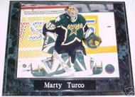 Marty Turco Dallas Stars 10.5x13 Plaque